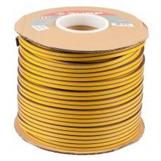 Уплотнитель  резиновый самоклеящийся профиль D, коричневый, 150м Зубр 40930-150
