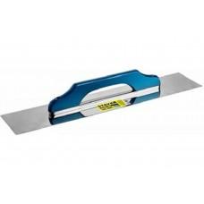 Гладилка Eхpert 600 нержавеющая с деревянной ручкой 130*600 мм  швейцарская Stayer 08034