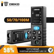 Дальномер лазерный  LRD110-50m DEKO 065-0205