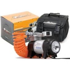 Копрессор автомобильный PROFESSIONAL с фонарем 10 атм,35л/мин.в сумке AIRLINE CA-035-03