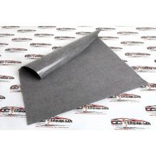 Ткань акустическая самоклеющаяся «карпет» серебристый ширина 1,5 метра (цена за пог. метр) (кратно 1 метру) Dream Car 00-00002445