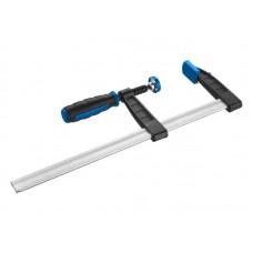 Струбцина  Профессионал, тип F, двухкомпонентная ручка, стальная закаленная рейка, 120*1000мм Зубр 32155-120-1000
