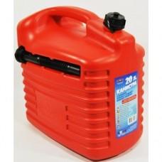 Канистра 20 л пластиковая с заливным устройством Мамонт 59816/ ARNEZI 00-01546371