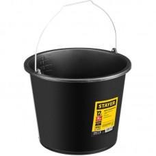 Ведро 12л строительное пластмассовое высокопрочное Stayer 06083-12_z01
