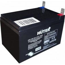 АКБ 12В 12Ач для генераторов серии LX Huter, мотоциклов и снегоходов Huter 64/1/23