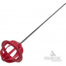 Миксер  66*60*400мм  Мастер ГЛОБУС пластмассовый, для красок, Зубр 06006-66-40