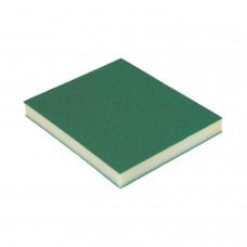 Губка Абразивная губка Р080(150) 2-х сторонняя 98х120х13мм (1 шт) HOLEX HAS-52114
