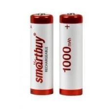 Ак-р Smartbuy аккумулятор AA/R6 Ni-Mh 1000 mAh (24/240) SBBR-2A02BL1000