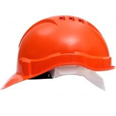 Каска защитная ЕВРОПА текстильное оголовье оранжевый