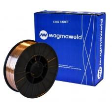 Проволока сварочная Magmaweld MG2 (D200 RND) 0,8мм  (бухта 5кг) сплошного сечения (цена за 1кг) 21002BBAM2