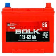 Аккумулятор  BOLK ASIA 65 А/ч  EN600 А обратная R+ 230*173*220 1437655