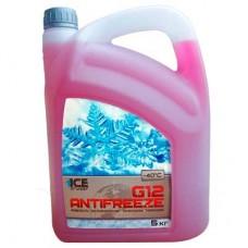 Антифриз Ise Cruizer G12-40 (5кг) красный ICE-CRUIZER 00-01640297