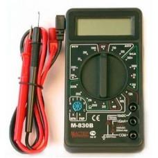 Мультиметр   M830B, AC(0.1..600V) DC(0.1mV..600V/200мкА..10А) R(0.1Ом..2МОм) диод-тест SQ1005-0001 TDM 557031