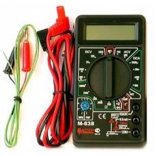 Мультиметр   M838 AC(600V)DC(0.1mV-600V/2mA-10A)R(0.1-2МОм),t(-20-1370C)диод-тест SQ1005-0003 TDM 557033