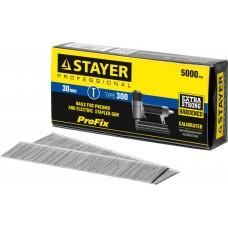 Гвозди  30 мм гвозди для нейлера тип 300, 5000 шт Stayer 31530-30