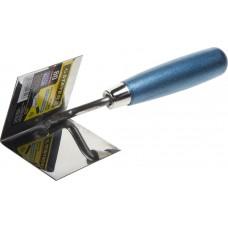 Кельма  PROFI для внутренних углов, нержавеющее полотно, 80х60мм Stayer 0836