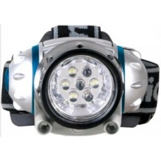 Фонарь  фонарь налобный LED5310-7F3 (3xR03 в компл.) 7св/д 0.6W (19lm), метал./пластик, 3 реж, BL Camelion 26317