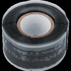 Изолента 25мм/3м NIT-SFSR25-3-BL силиконовая самослипающаяся черная, 14080 Navigator 770733