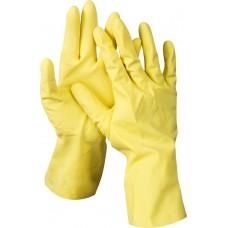 Перчатки  перчатки  латексные хозяйственно-бытовые, размер S. DEXX 11201-S