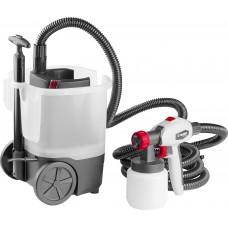 Краскопульт (краскораспылитель) электрич,  , HVLP, 0.8л, краскоперенос 0-800мл/мин,вязкость краски 100 DIN/сек, сопло 2.6мм, 750Вт Зубр КПЭ-750