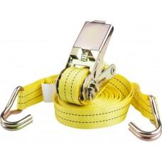 Ремень  PROFESSIONAL для крепления груза, ширина ленты 25мм, нагрузка до 500кг, длина 6м Stayer 40560-6