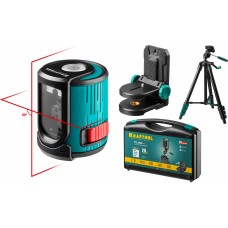 Нивелир  CL 20 #4 нивелир лазерный, 20 м, IP54, точн. +/-0,2 мм/м, держатель, штатив, в кейcе Kraftool 34700-4_z01