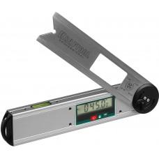 Угломер DAM-27  электронный, 250 мм, Диапазон 0-225гр., Точность ±0,05гр., Функция HOLD, Фиксация угла, Выбор позиции нуля, Kraftool 34684