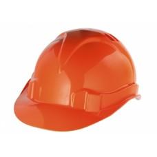Каска защитная из ударопрочной пластмассы оранжевая // СИБРТЕХ/Р 89113