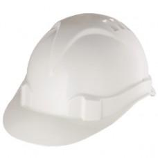 Каска защитная из ударопрочной пластмассы, белая// СИБРТЕХ/Р 89114
