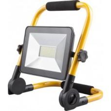 Прожектор Feron прожектор св/д переносной 30W(2400lm) 6400K 6K желтый с ручкой 200x57x210 IP65 LL-512 29746 feron 677423