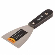 Лопатка Шпательная лопатка стальная, 75 мм, полированная, пластмассовая ручка// Sparta 852395