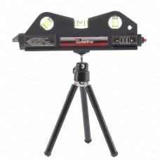 Уровень лазерный 170мм, 150мм штатив ,3 глазка Matrix 35020