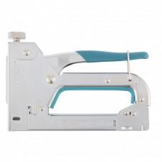 Степлер мебельный регулируемый (Handwerker), стальной корпус, тип скобы 53, 4-14 мм// GROSS 41000