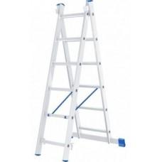 Лестница 2х секционная алюминиевая 2*10 Perilla