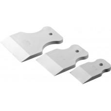 Набор STAYER MASTER Шпатели резиновые белые  (40-60-80 мм) 3шт, 1027-H3