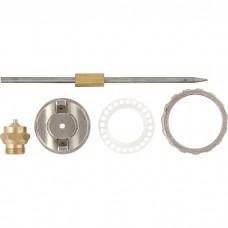Ремкомплект для краскораспылителя 4 предмета : сопло 1,5 мм + игла + форсунка + зажим сопла// MATRIX 57382