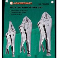 """Набор ручных тисков """"струбцин"""" 3 предмета JonnesWay P32M03S 49165"""