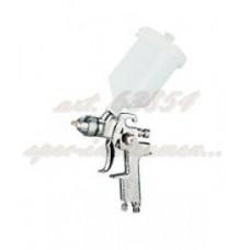 """Пистолет покрасочный """"Краскопульт"""" системы HVLP верхний бачок нейлон 0,6л, дюза 1,4мм. JonnesWay JA-HVLP-6109 47600"""