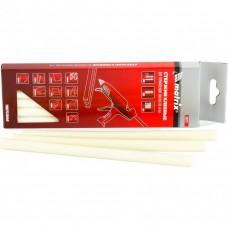 Термоклей (стержни клеевые) белый, 11*200мм, 6 шт./упак. // MATRIX 930723
