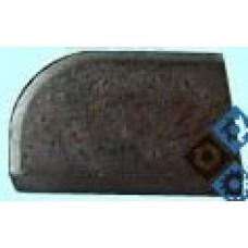 Пластина 07130 ВК8 правая (20х12х5х7х18гр) (для подрезных,проходных расточных и револьверных резцов)