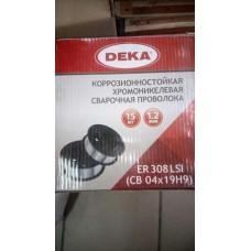 Проволока сварочная по нержавейке СВ04х19H9 ER308LSI 1,2 мм (в катушке 15 кг) (цена за 1кг)