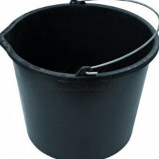 Ведро 12л строительное мерное Черный 1 Р T4P 0602212