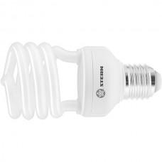 Лампа компактная люминесцентная, полуспиральная, 15W, 4100K, E27, 8000ч., Stern 90912