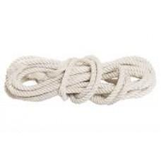 Веревка х/б, D 14 мм, L 11 м, крученая, 370 кгс//Р 94003