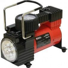 Компрессор автомобильный QUATTRO ELEMENTI Smart 35 (12 Вольт, 140 Вт, 7 бар, 35 л/мин, фонарь, сумка) 772-623