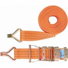 Ремень багажный с крюками 0,05х10 м., храповый механизм //STELS Р 54387