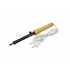 Паяльник ПД 220В 65Вт деревянная ручка ЭПСН Р 12-0265