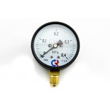 Манометр ТМ-610Р (0-0,4 Мпа) G1/2* 150С 1.5*
