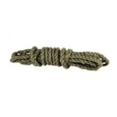 Веревка 10мм/10 м льнопеньковая 94009