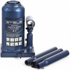 Домкрат бутылочный гидравлический телескопический, 4 т, h подъема 170–420 мм// STELS 51116